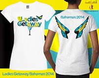 Ladies Getaway Bahamas 2014 T Shirt
