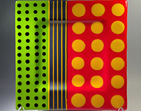 Fused Glass Plate Designs