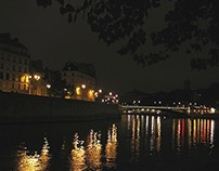Paris Photos at Night