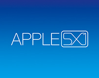 Logo Apple 5x1 | Rebrand Design