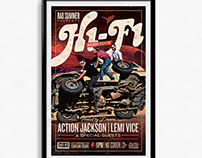 Hi-Fi Wednesdays Promotional Poster