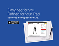 Staples iPad app and Mobility app