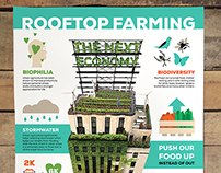 Rooftop Farming Infographic