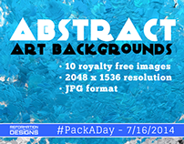 #PackADay - 7/16/14 Abstract Art Backgrounds