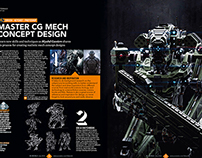 3d World Magazine July 2014 Mech Tutorial