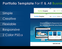 Creative & Simple Portfolio Template