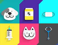 Android L : Veterinary Flat icon