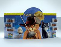 PDV - Lançamento DVD O Gato de Botas