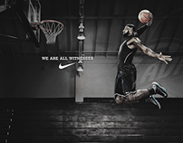 LeBron James Nike Advertisement