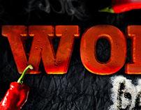 Wok Bar Menu Cover