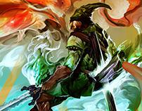 Link: Legend of Zelda – Fanart