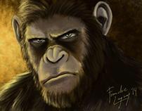 Digital Illustration: Caesar