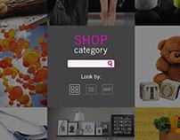AEON Mall Concept Web Design