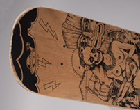 Aloha skate deck, 2014