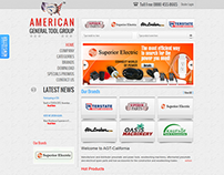American General Tools (Award Winning Website)