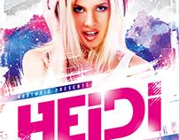 Guest DJ Party Flyer vol.6, PSD Template
