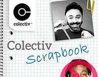 COLECTIV scrapbook