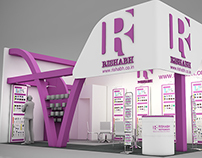 Exhibition stand design - Lumel & Rishabh