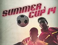 Poster Summer Cup'14 - Futsal Olivais