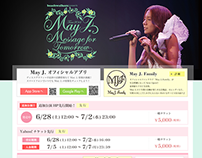 May J. Tour 2014 ~Message for Tomorrow~ SPECIAL SITE