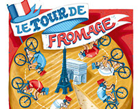 Waitrose Weekend Tour de Fromage: Cover & Map