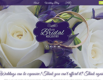 Website design for Elite Bridal Regitry