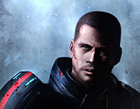 Mass Effect: digital art