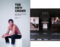 Fashion Week Invites + Ads for Human, Kashieca, & Bench