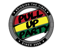 Pull Up Party Logo (around the world)