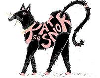 Illustrated Phrase: 'Kat se Snor'