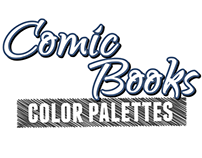Comic Books Color Palettes