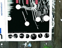 Visualization of music: posters