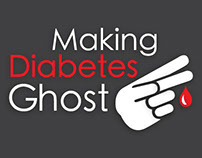 Making Diabetes Ghost: Logo Design
