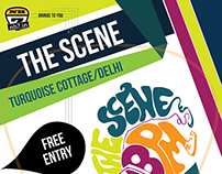 NH7 'The Scene' Gig Poster.