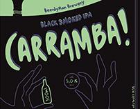 carramba! beer label