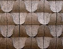 Modular Ceramic Wave Wall Installation