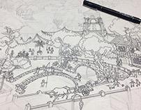 TABING NAYON (Pen & Ink Artwork)
