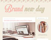 Brand new day - Layout free