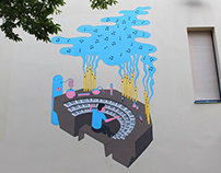 A chemistry organ : a mural painting for Antipode MJC