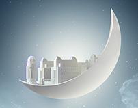 Ramadan on Moon