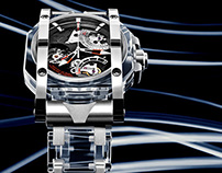 Light painting - Visconti Watches