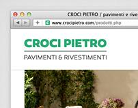 Croci Pietro, website