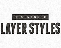 16 Distressed Layer Styles