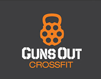 Guns Out Crossfit corporate identity
