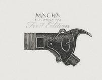 'MACHA'.Typedesign.