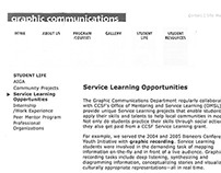 Text for City College's website