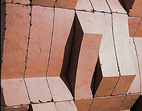 Modular Ceramic Concave Convex Wall System