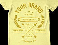 Vintage T-Shirt Design Template