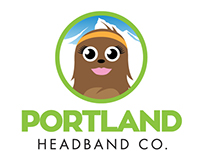 Logo design for Portland Headband Co.