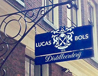 Sign Lucas Bols distillery